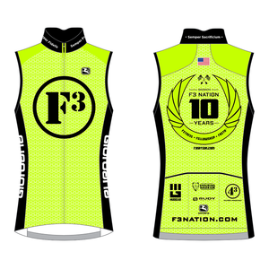 F3 10th Anniversary Wind Vest Pre-Order January 2021