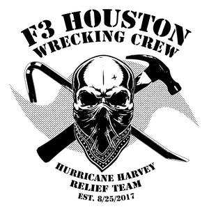 F3 Houston Wrecking Crew Black Logo Pre-Order