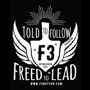 Freed To Lead Fundraiser Shirt Pre-Order