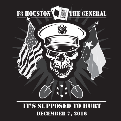 F3 Houston The General Pre-Order 10/19
