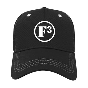 F3 Embroidered Soft Textured Polyester Mesh Cap