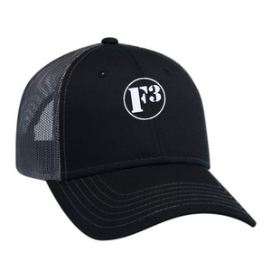 F3 Trucker Hat for Massive Noggins