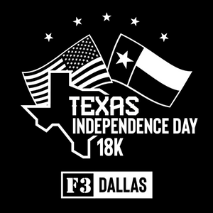 F3 Dallas Texas Independence Day 18K Pre-Order