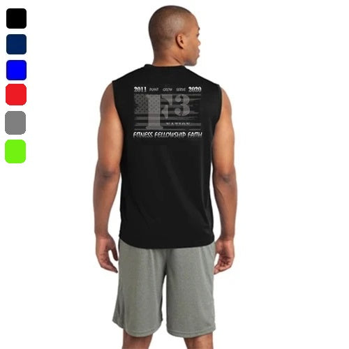 2020 Official F3 Race Jersey - Sport-Tek Sleeveless Tee Pre-Order
