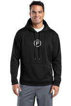 Black Sport-Wick Fleece Hooded Pullover