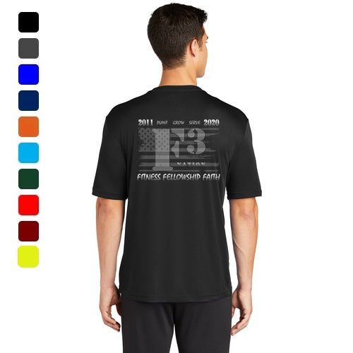 2020 Official F3 Race Jersey - Sport-Tek  Tall PosiCharge Competitor Tee Shirts Pre-Order