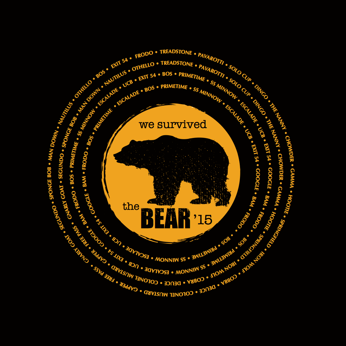 F3 I Survived The Bear Pre-Order