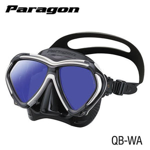 Tusa Paragon Mask Black Silicone