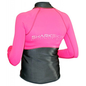 Sharkskin Performance Wear Top Long Sleeve Women's -Pink