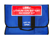 Load image into Gallery viewer, Standard EHS Kit - Wall-Mounted LIBIK (Lithium Ion Battery Incident Kit)