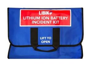 Standard EHS Kit - Wall-Mounted LIBIK (Lithium Ion Battery Incident Kit)