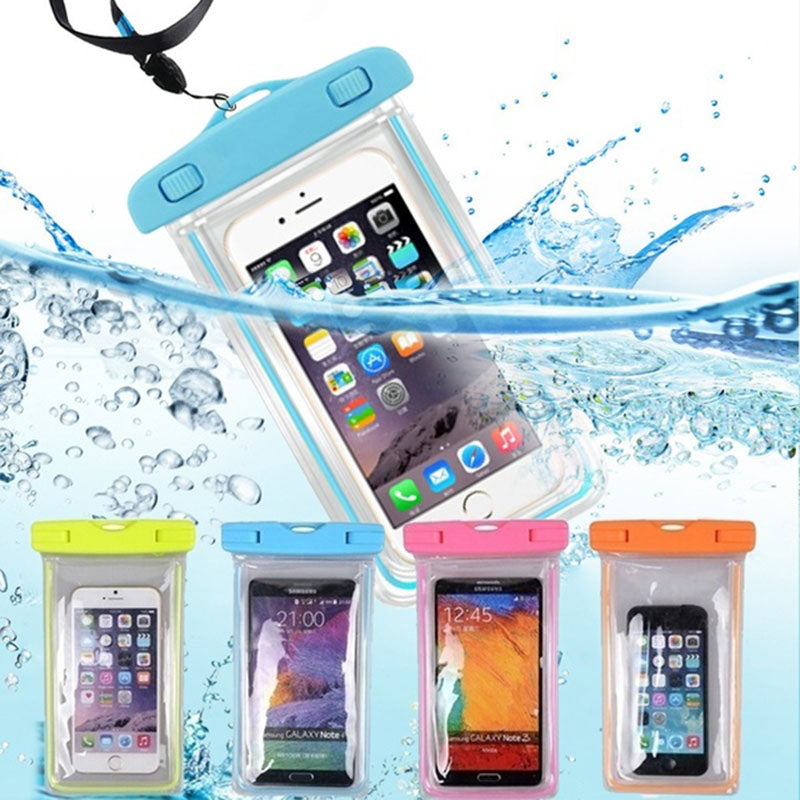 Waterproof Phone Pouch Drift Diving Swimming Bag Underwater Dry Bag Case Cover For Phone Water Sports Beach Pool Skiing 6 inch - ArtificialBeast