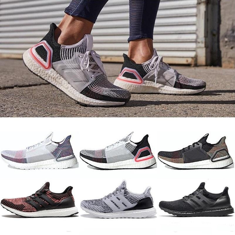 2019 High Quality Ultraboost 19 3.0 4.0 Running Shoes Men Women Ultra Boost 5.0 Runs White Black Athletic Shoes Size 36-47 - ArtificialBeast