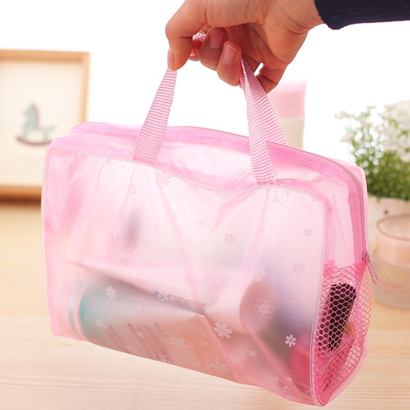 5 Colors Swimming Bags Sports Travel Bathing Storage Bag Women Transparent Organizer PVC Phone Pocket - ArtificialBeast