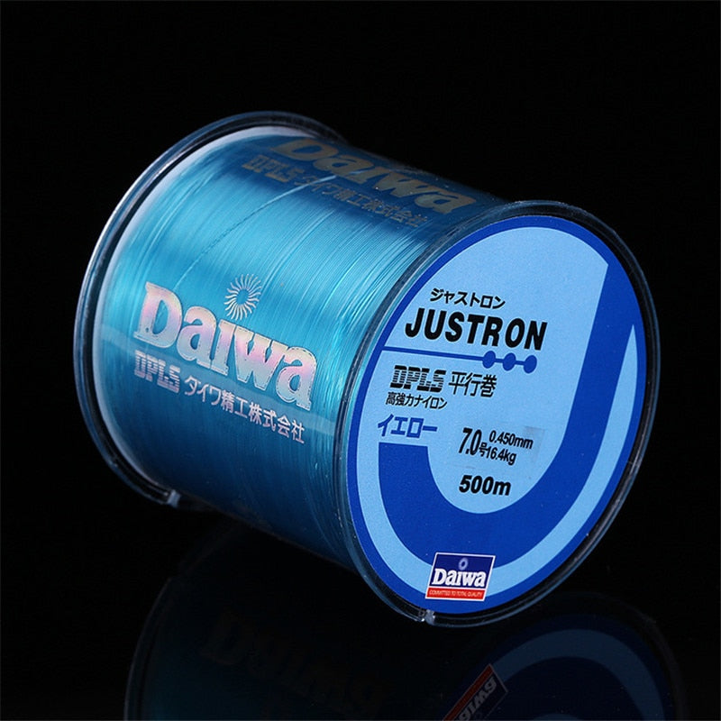 Nylon Fishing Line 500M Japanese Durable Fluorocarbon Sea Fishing Line 0.4-8.0 Super Strong Monofilament Thread Bulk Spool - ArtificialBeast