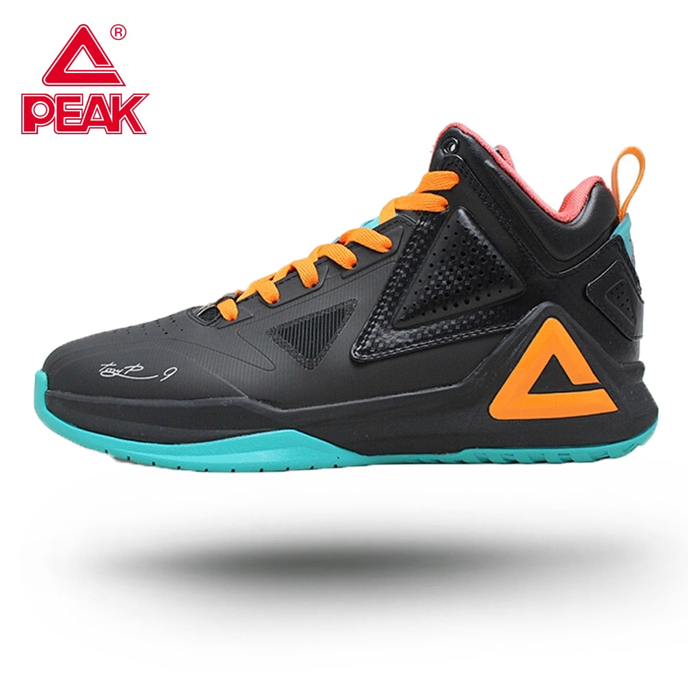 PEAK Basketball Shoes TONY PARKER I Men's Perfessional Responsive Cushioning Breahtable Upper Sport Flexible Non-slip Sneakers - ArtificialBeast