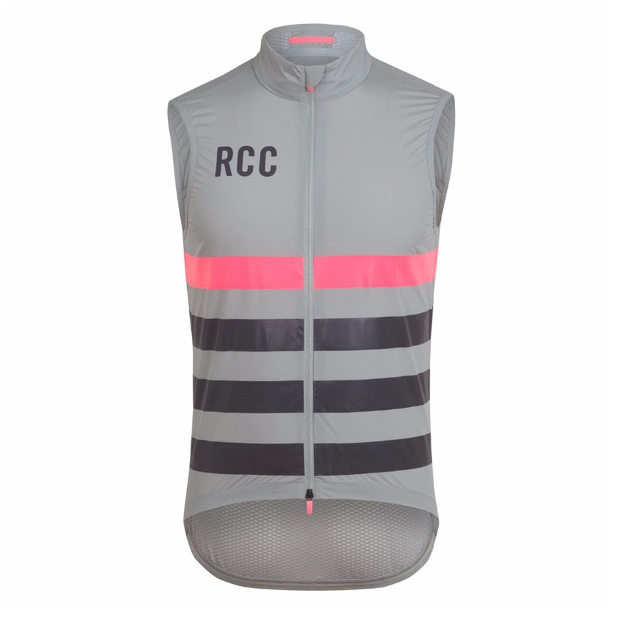 raphaing RCC winddicht wasser abweisend cycling jersey sleeveless men lightweight windproof breathable mesh cycle vest ciclismo - ArtificialBeast