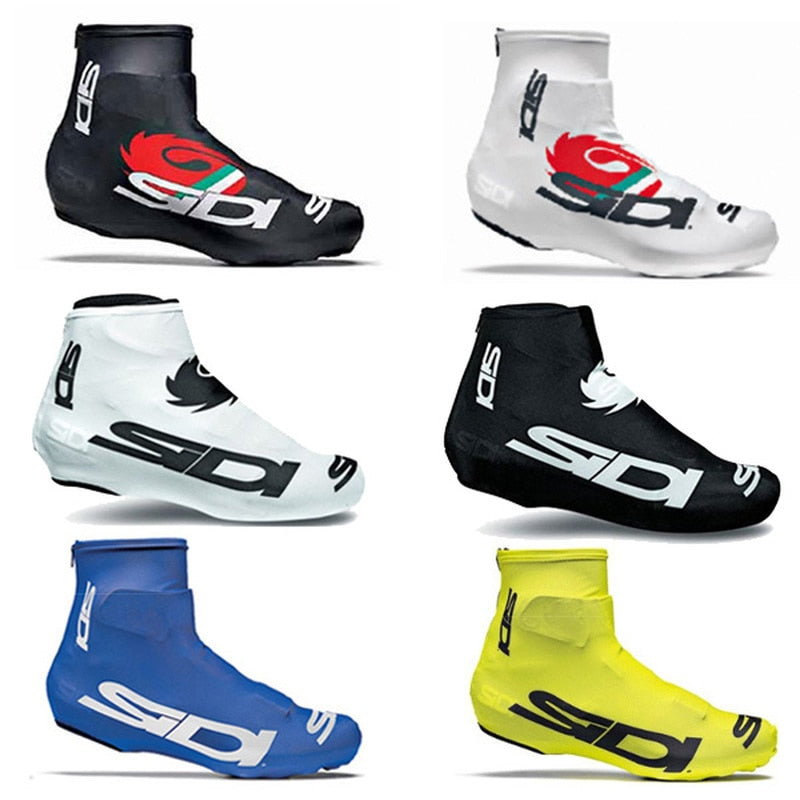 Professional sports cycling shoes SIDI Cover quick-drying 100% Lycra men's and women's sports shoes racing bike riding overshoes - ArtificialBeast
