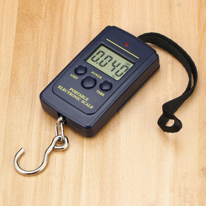 Load 40Kg LCD Mini Protable Pocket Digital Weighting Fishing Scale Electronic Hanging Multi Used Balance Fish Scale Weight Auto - ArtificialBeast