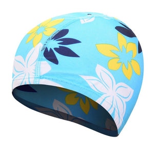 High Elastic Swimming Caps Adult Waterproof Stretchable Comfortable Ears Protection Long Hair Summer Swiming Pool Bathing Hat - ArtificialBeast