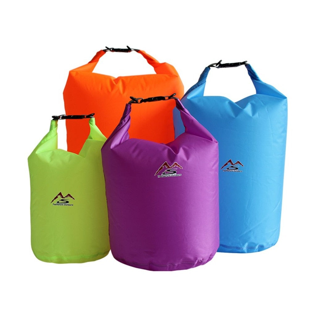 5L/10L/20L/40L/70 Outdoor Dry Waterproof Bag Dry Bag Sack Waterproof Floating Dry Gear Bags For Boating Fishing Rafting Swimming - ArtificialBeast