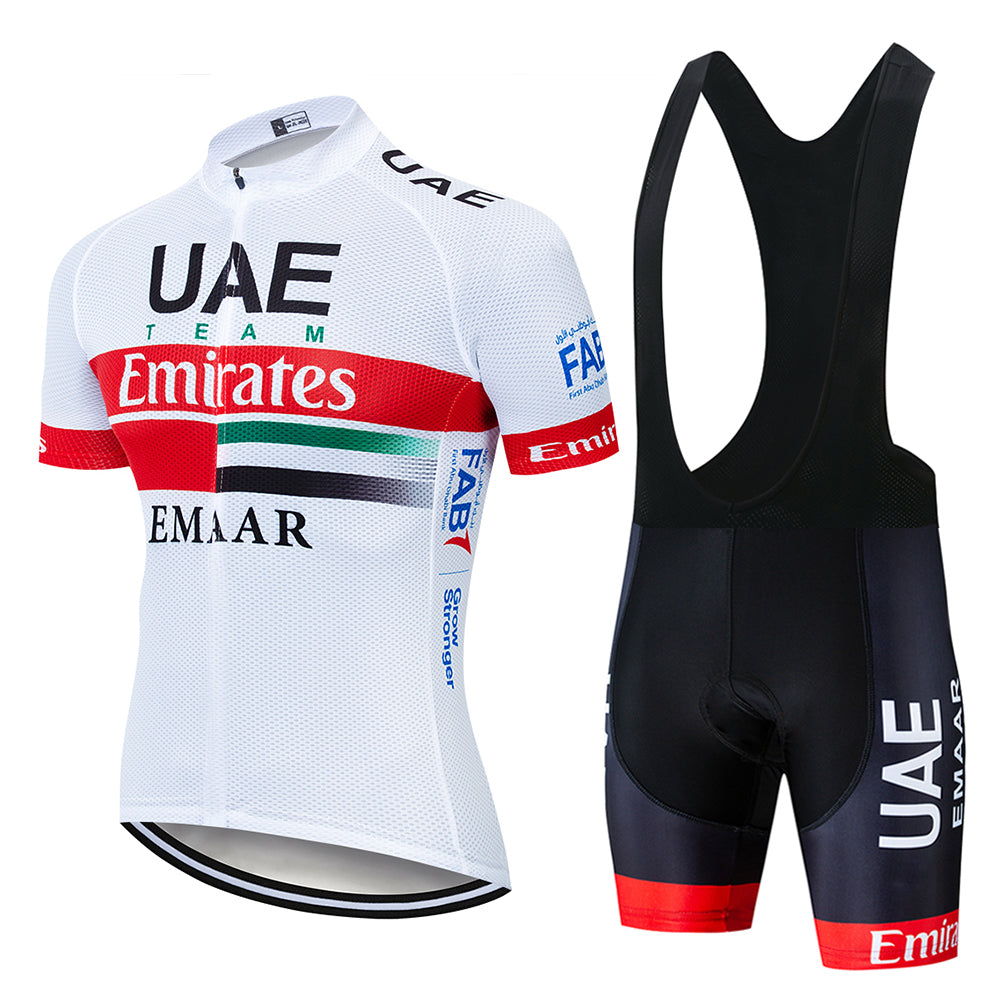 2019 Team UAE Cycling Jerseys Bike Wear clothes Quick-Dry bib gel Sets Clothing Ropa Ciclismo uniformes Maillot Sport Wear - ArtificialBeast