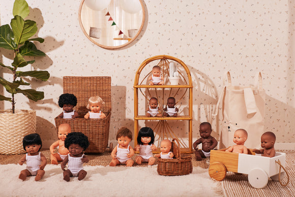 Miniland doll range. Shop online in Australia. Made for Mia.