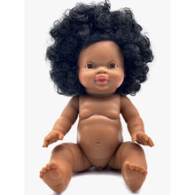 Load image into Gallery viewer, PRE order Paola Reina Gordis Doll- Nora- Long hair African girl black hair - Made for Mia