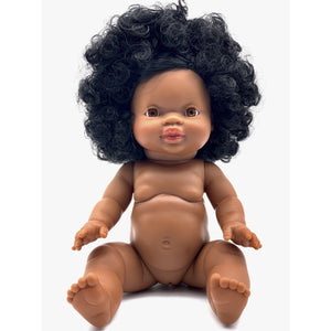 PRE order Paola Reina Gordis Doll- Nora- Long hair African girl black hair - Made for Mia