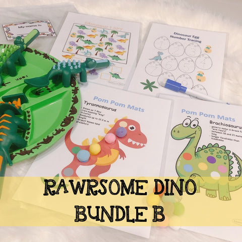 RAWRSOME DINO BUNDLE B