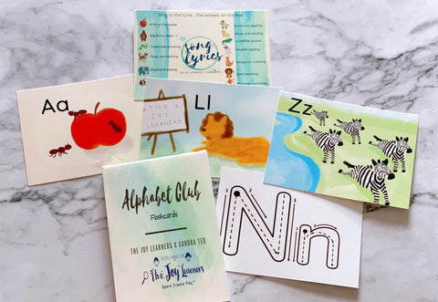Alphabet Club flashcards