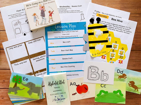 Alphabet Club Term 1 with Rewritable Flashcards