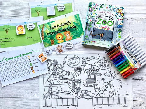Zoo Animals Bundle
