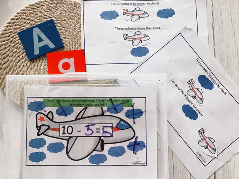 All about Aeroplanes printables