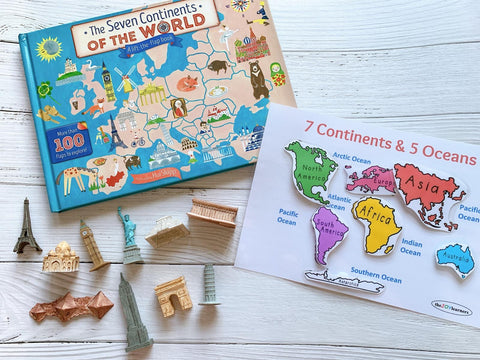 PREORDER-Countries of the World Book Kit
