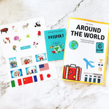 Around the world learning materials