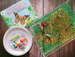 Life cycle of a butterfly book kit