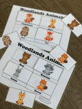 Woodlands Animals