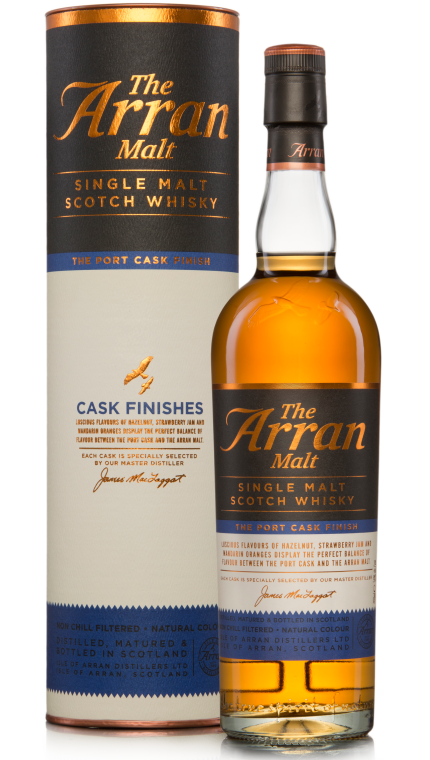 Arran Port Cask Finish 50%