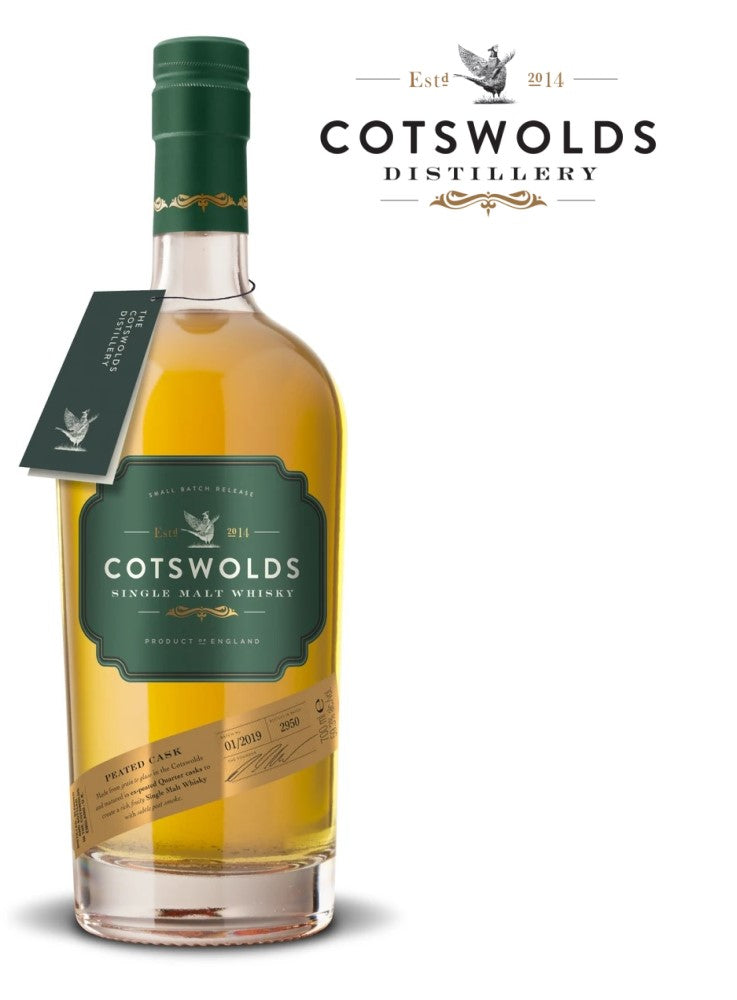Cotswolds Peated Cask 60,2%