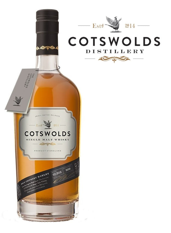 Cotswolds Single Malt 2014 Batch 3 46%