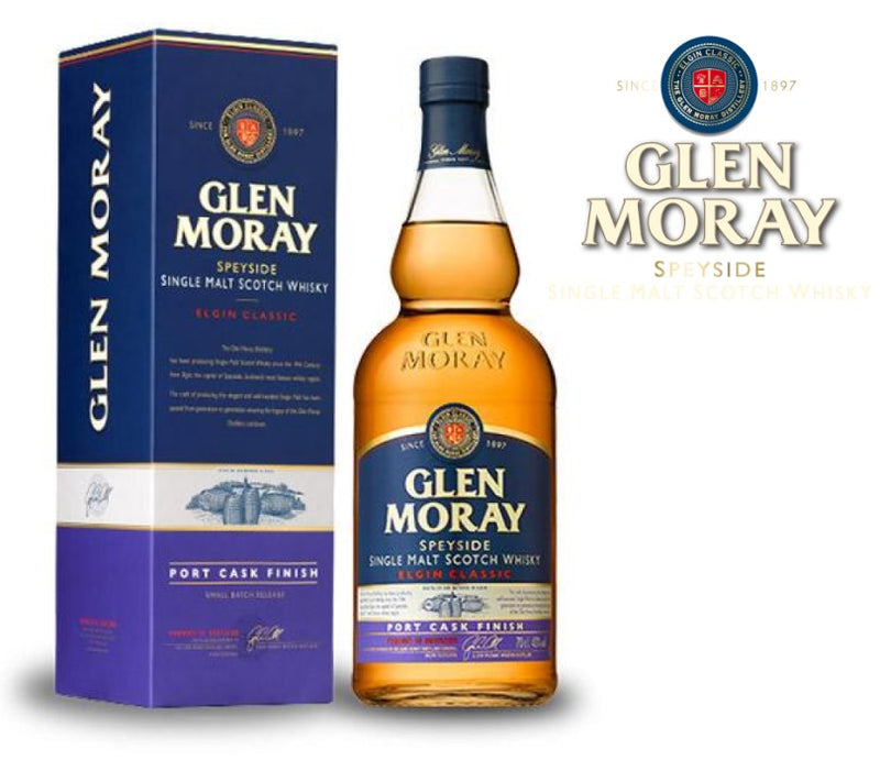 Glen Moray Port Cask Finish 43%