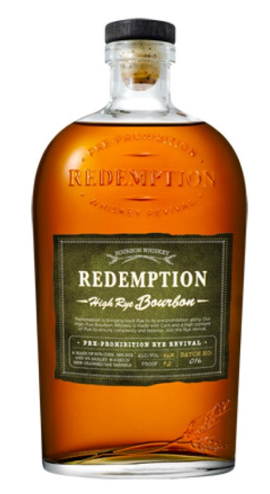 Redemption High Rye Bourbon 46%