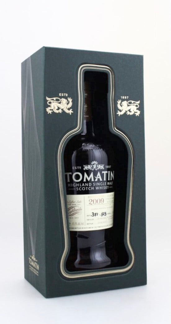 Tomatin 2009 Re-Charred Verdejo White Wine Cask 61,8%