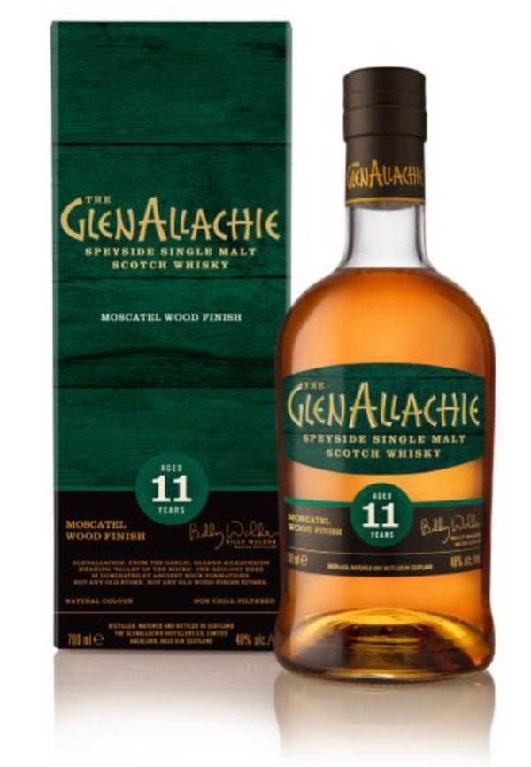 GlenAllachie 11 ans Moscatel Wood Finish 48%