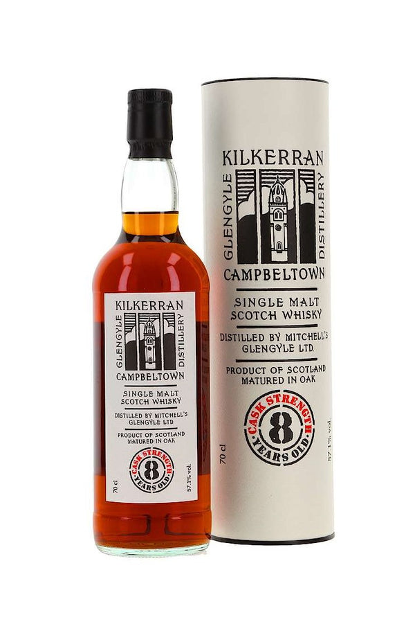 Kilkerran 8 ans Re-Sharred Oloroso Sherry Cask 57,1%