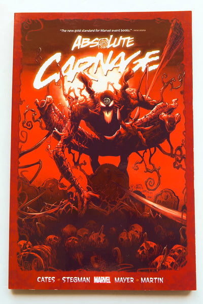 Absolute Carnage Marvel Graphic Novel Comic Book