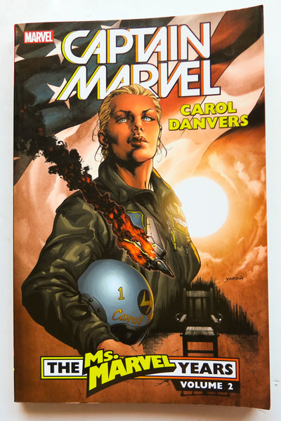 Captain Marvel Carol Danvers The Ms. Marvel Years Vol. 2 Graphic Novel Comic Book
