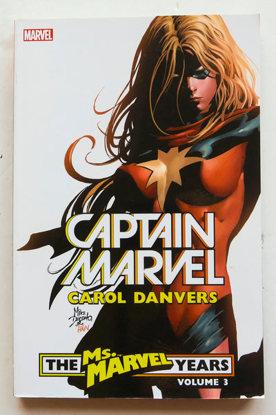 Captain Marvel Carol Danvers The Ms. Marvel Years Vol. 3 Graphic Novel Comic Book