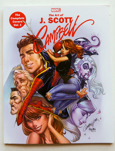 The Art of J. Scott Campbell The Complete Covers Vol. 1 Marvel Monograph Art Book